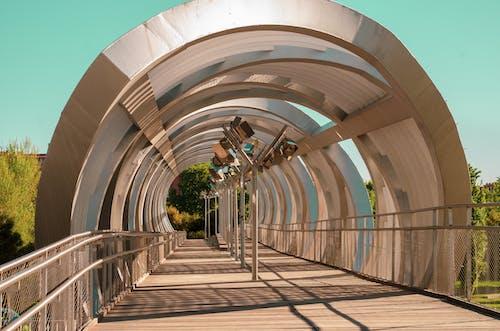 Free stock photo of architecture, bridge, color