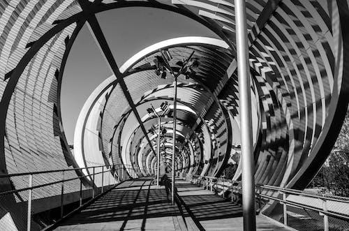 Free stock photo of architecture, bridge, circle