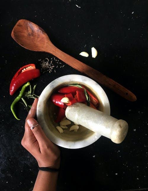Fotos de stock gratuitas de ajo, anillo, chile, crudo