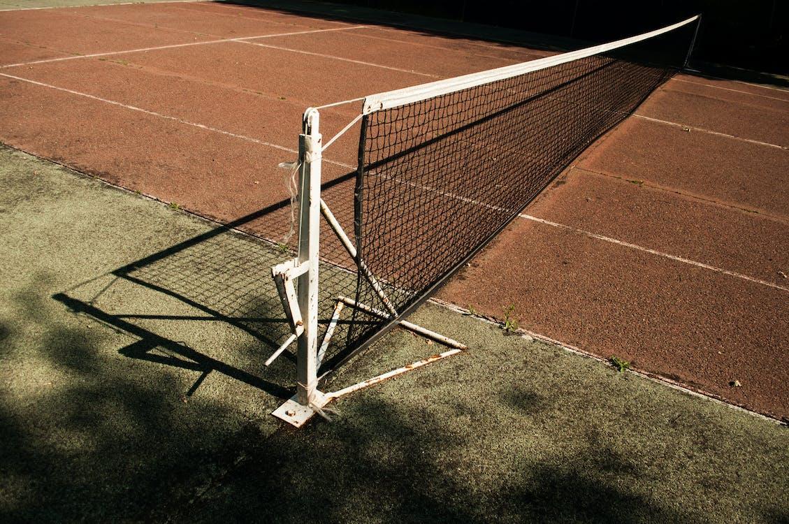 White Tennis Goal