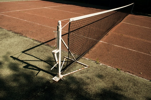 Free stock photo of sport, tennis, old, net