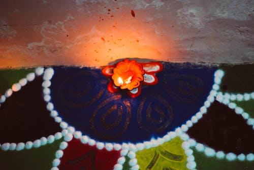 キャンドルライト, クリスマスの壁紙, 色の無料の写真素材