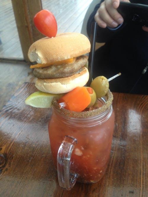 bar, burger, dv8, içki içeren Ücretsiz stok fotoğraf