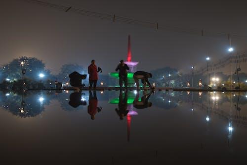 mobilephoto, prople, 印度, 反射 的 免费素材照片