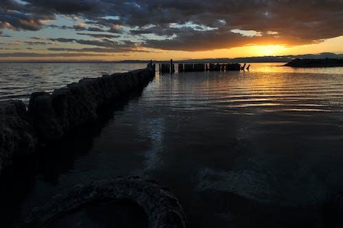 Free stock photo of bombay beach, california, lake