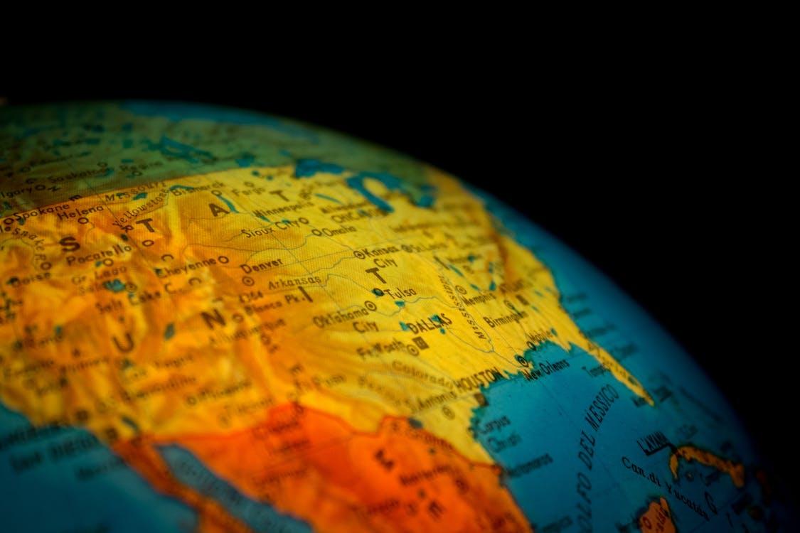 вселенная, география, глобус