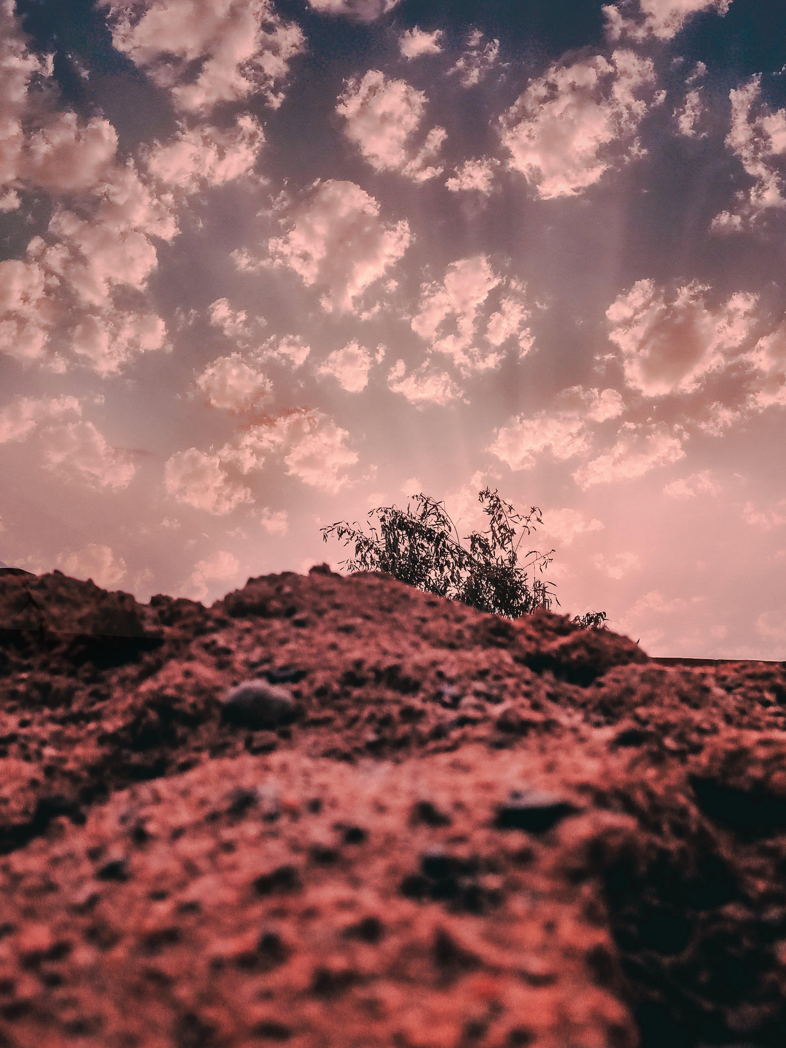 Základová fotografie zdarma na téma HD tapeta, hora, kámen, mrak