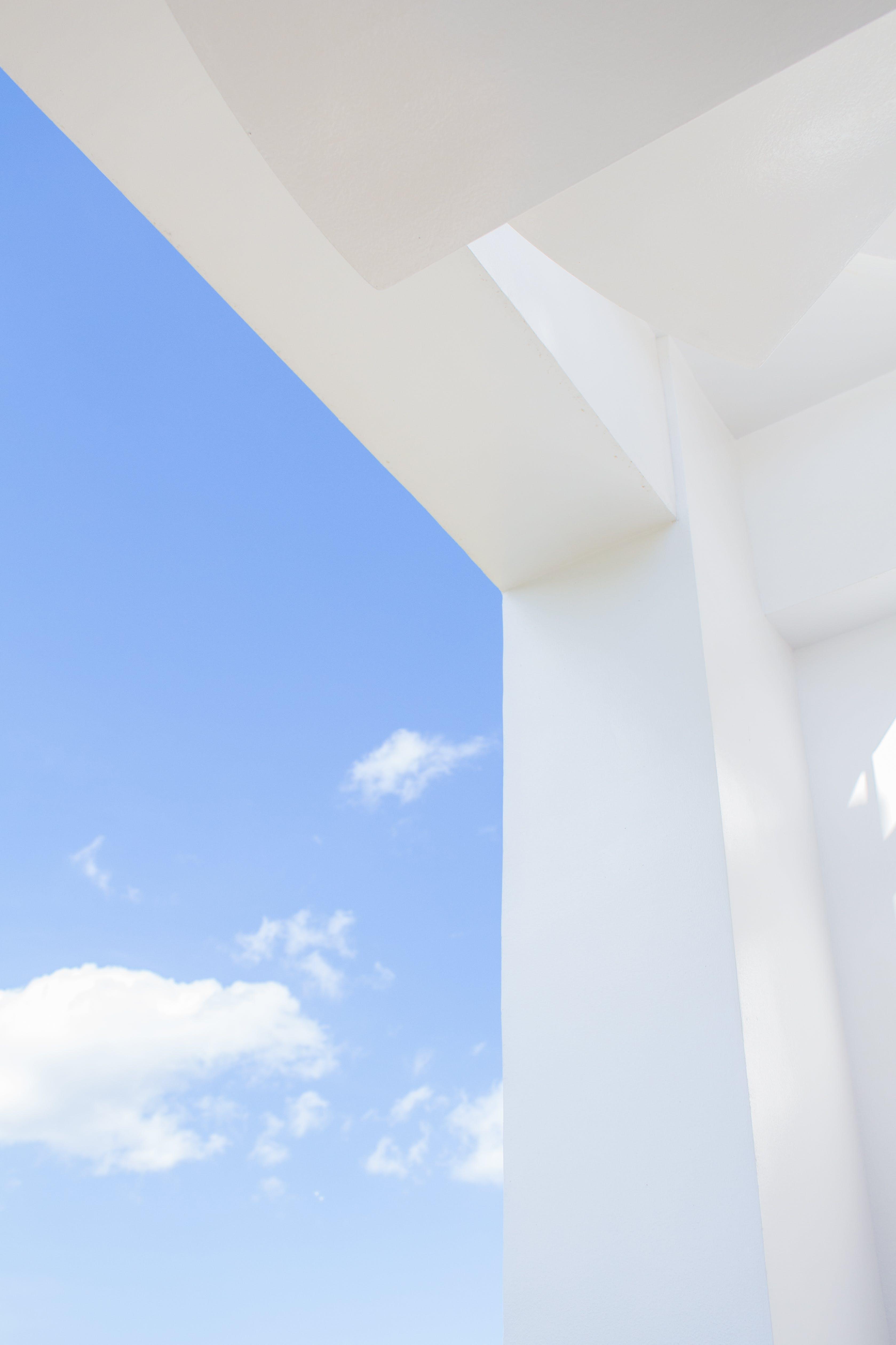 Základová fotografie zdarma na téma 4k tapeta, architektura, atmosféra, beton