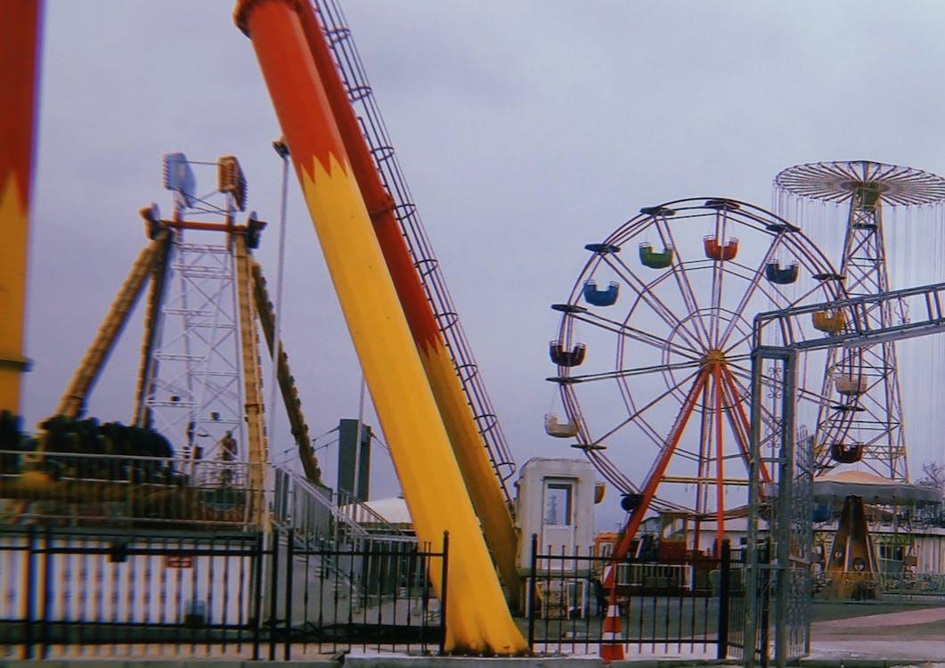amusement, amusement park, coaster