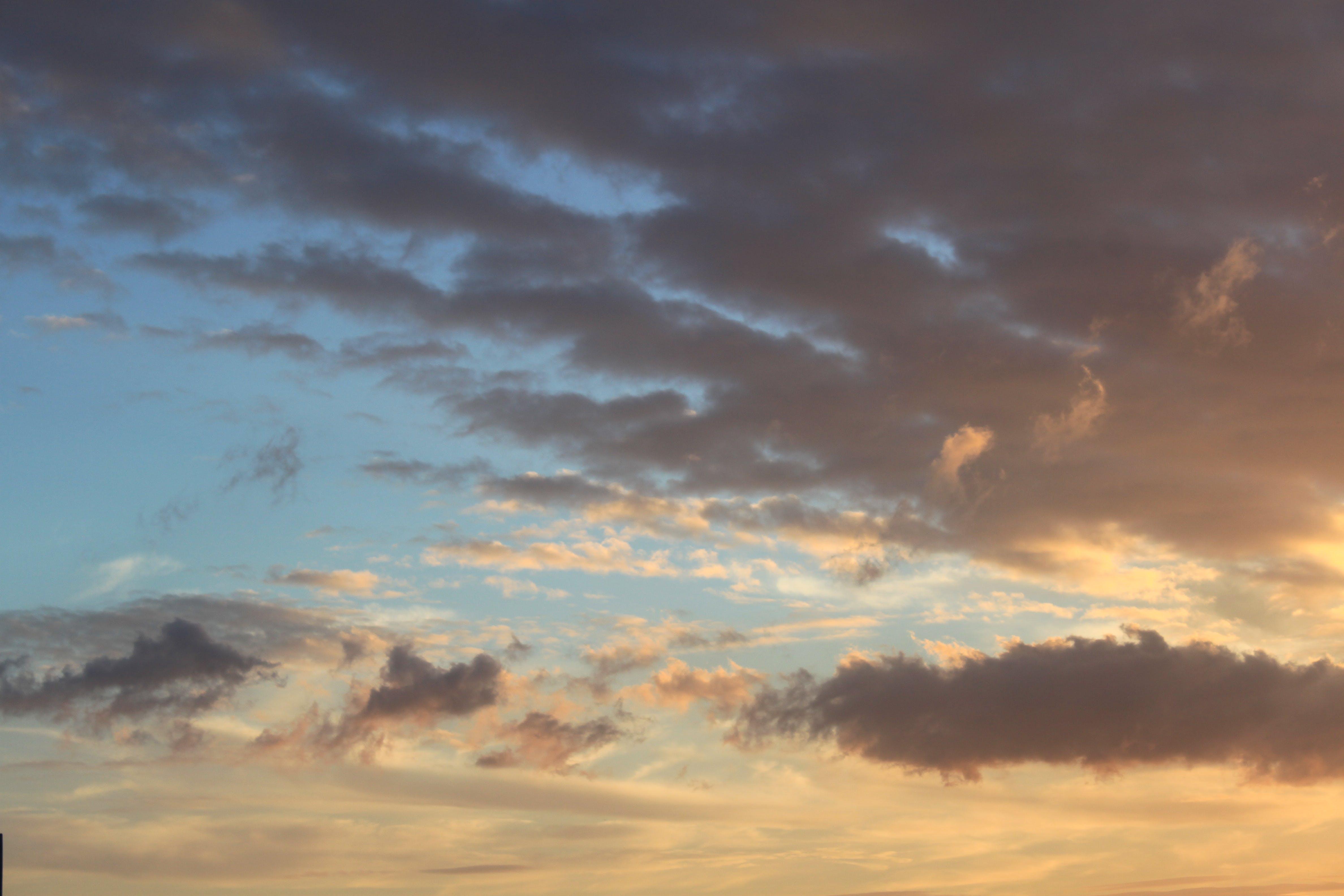Sundown Photography of Cloudy Sky