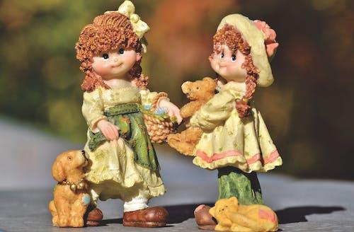 Gratis arkivbilde med dekorasjon, dekorativ, figurer, jente
