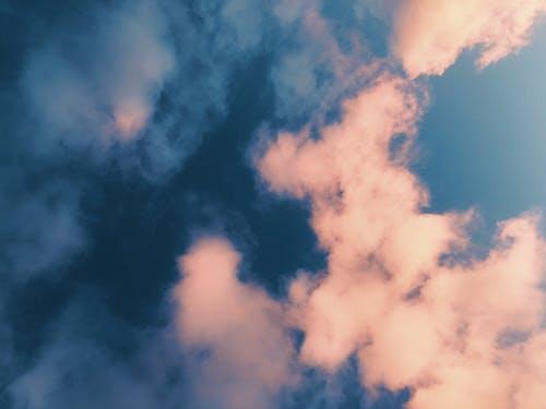 Fotobanka sbezplatnými fotkami na tému abstraktný, modrá, modrá obloha, mrak