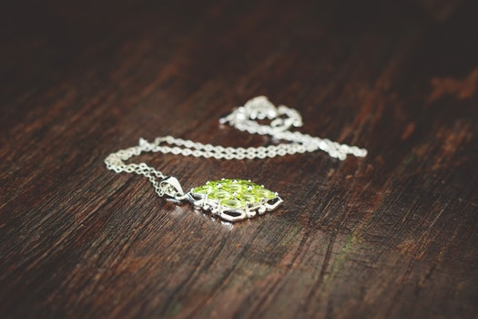Women's Green Necklace