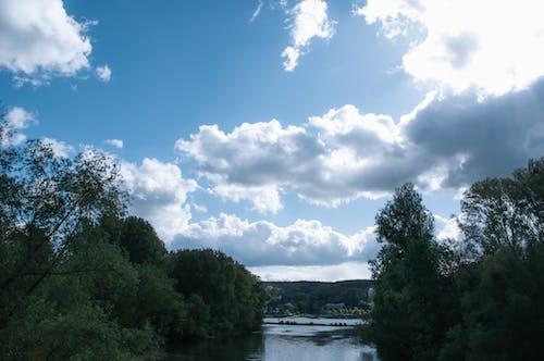 Ilmainen kuvapankkikuva tunnisteilla joki, kaunis maisema, maisema-valokuvaus, pilvet