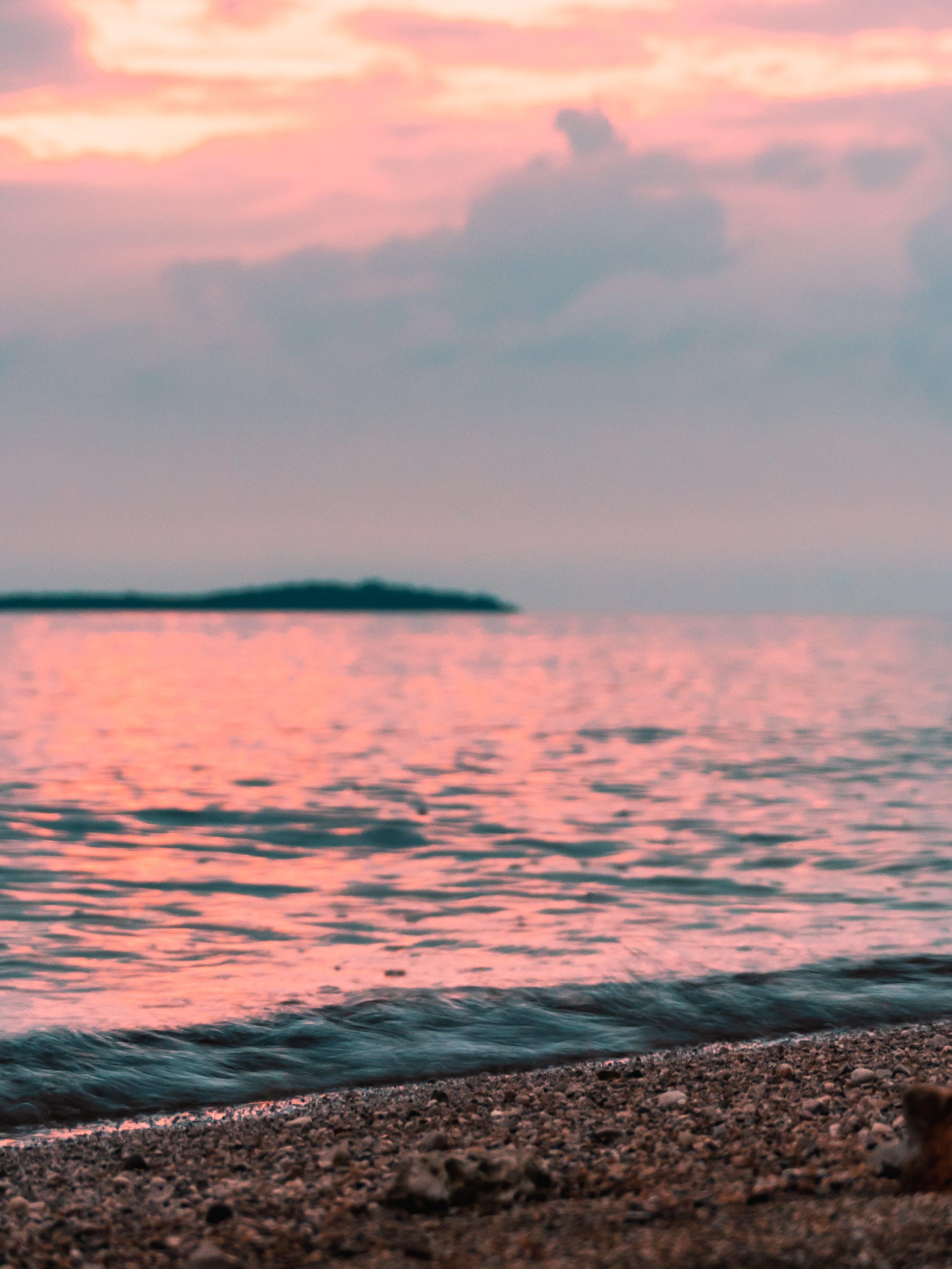 Foto d'estoc gratuïta de a l'aire lliure, Costa, horitzó, litoral