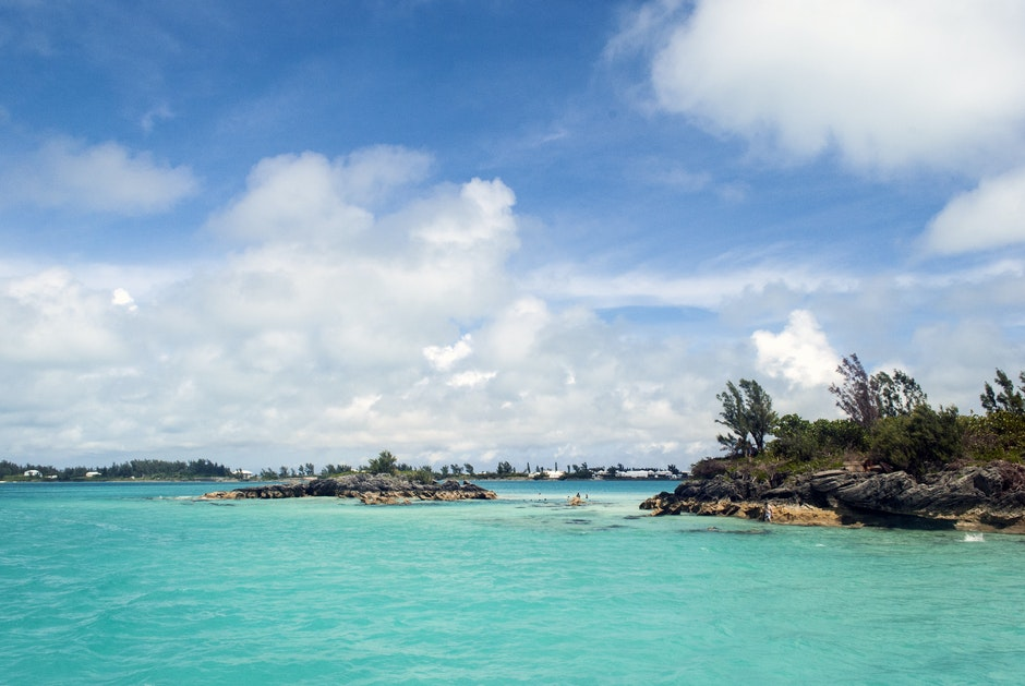 bermuda, blue skies, blue sky