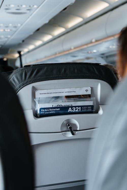 adentro, aerolínea, aeronave