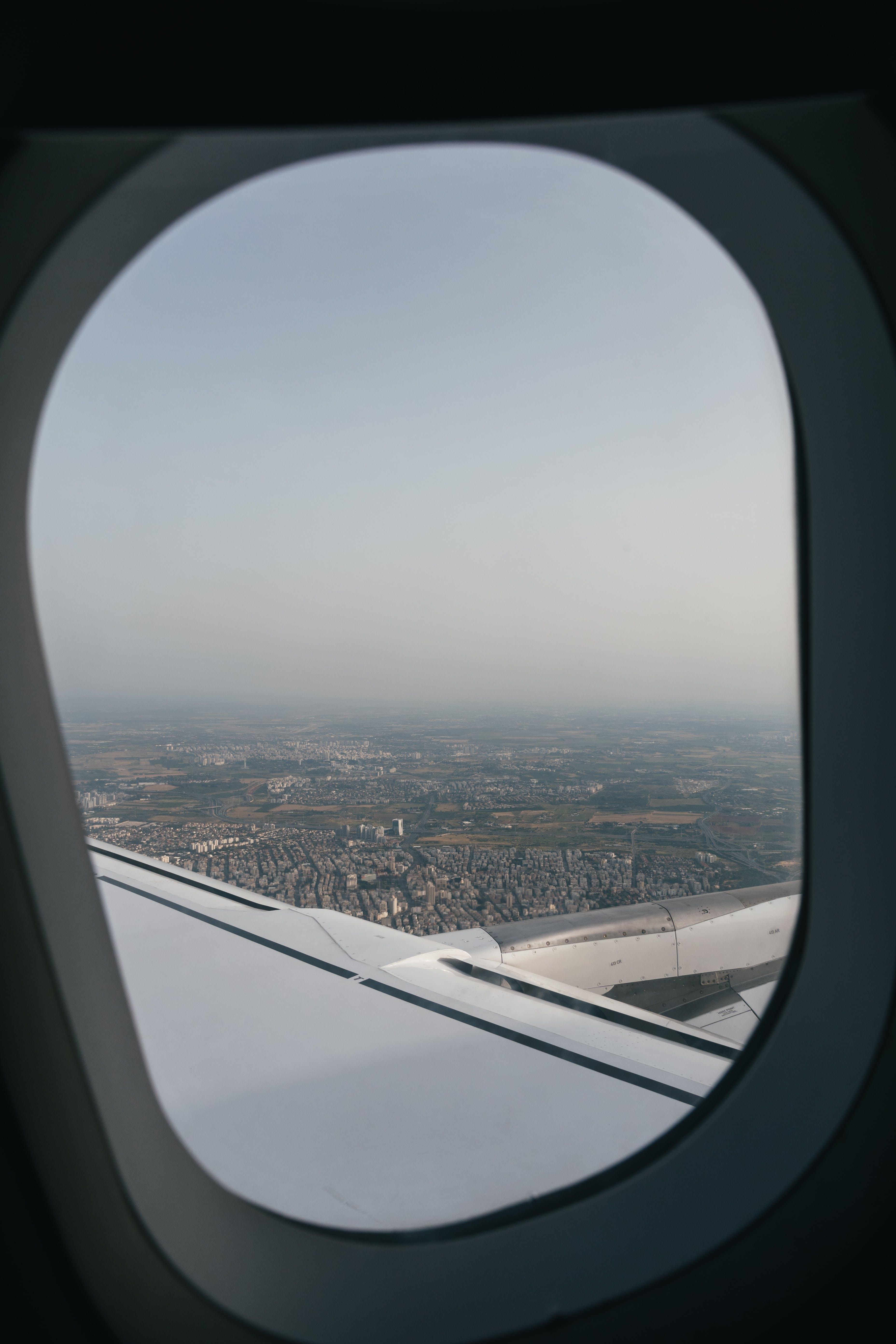 Foto d'estoc gratuïta de aeri, alba, aviació, avió