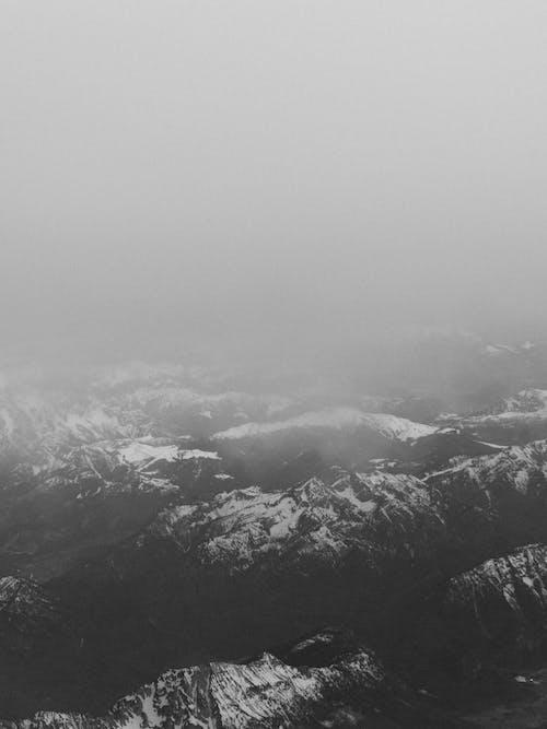 Imagine de stoc gratuită din ceață, cer, cețos, fotografie cu drona