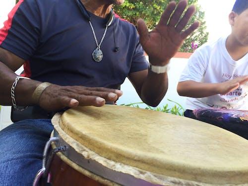 Free stock photo of black hands, dance, drum, music
