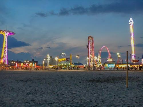 Free stock photo of beach, coneyisland, new york city, nyc