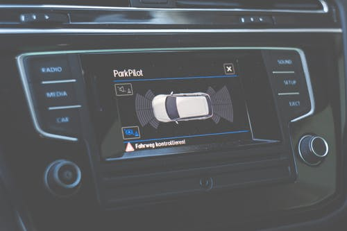 คลังภาพถ่ายฟรี ของ parkpilot, ตัวบ่งชี้, รถยนต์, แดชบอร์ด