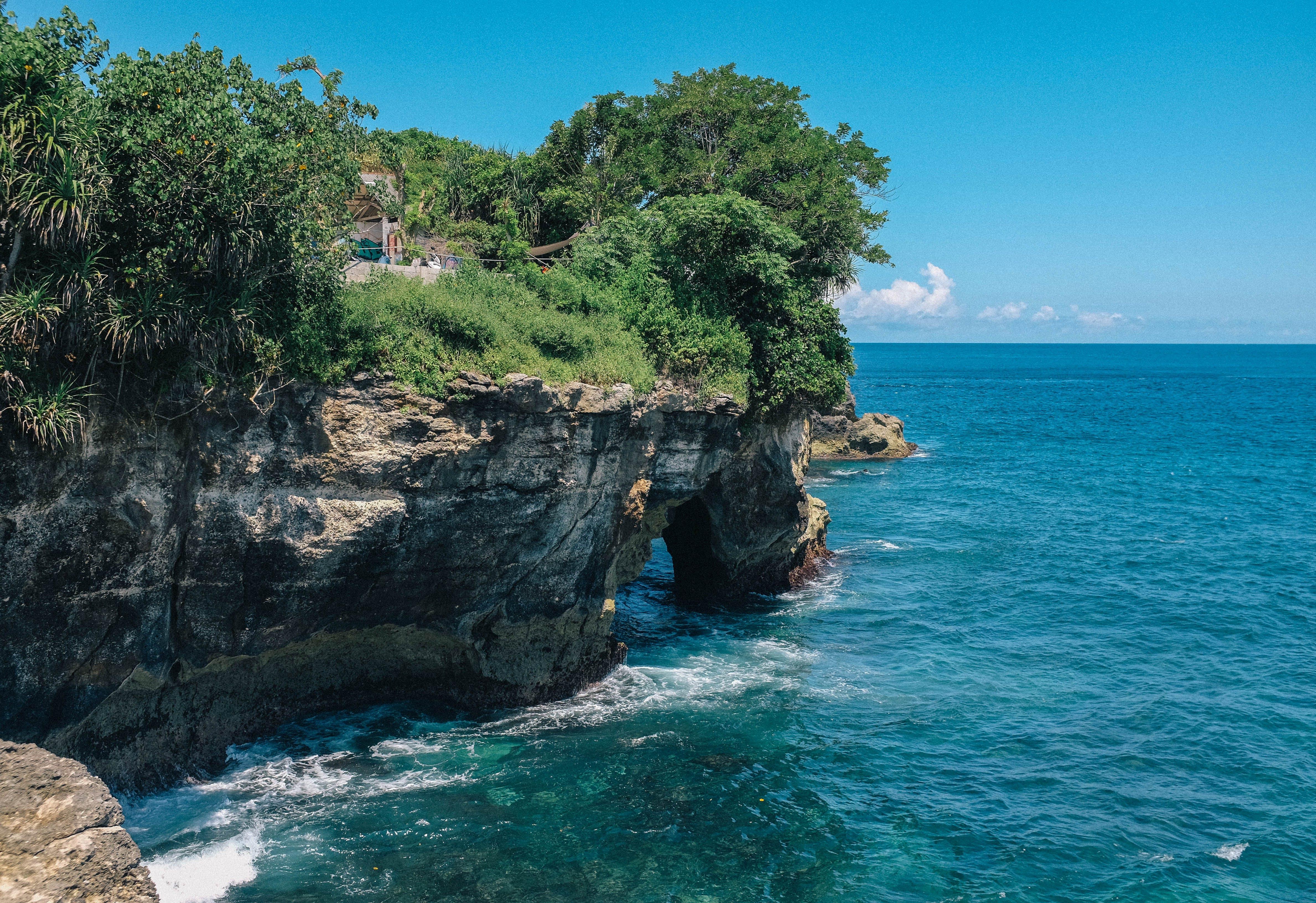 Gratis lagerfoto af blåt vand, bugt, idyllisk, landskab