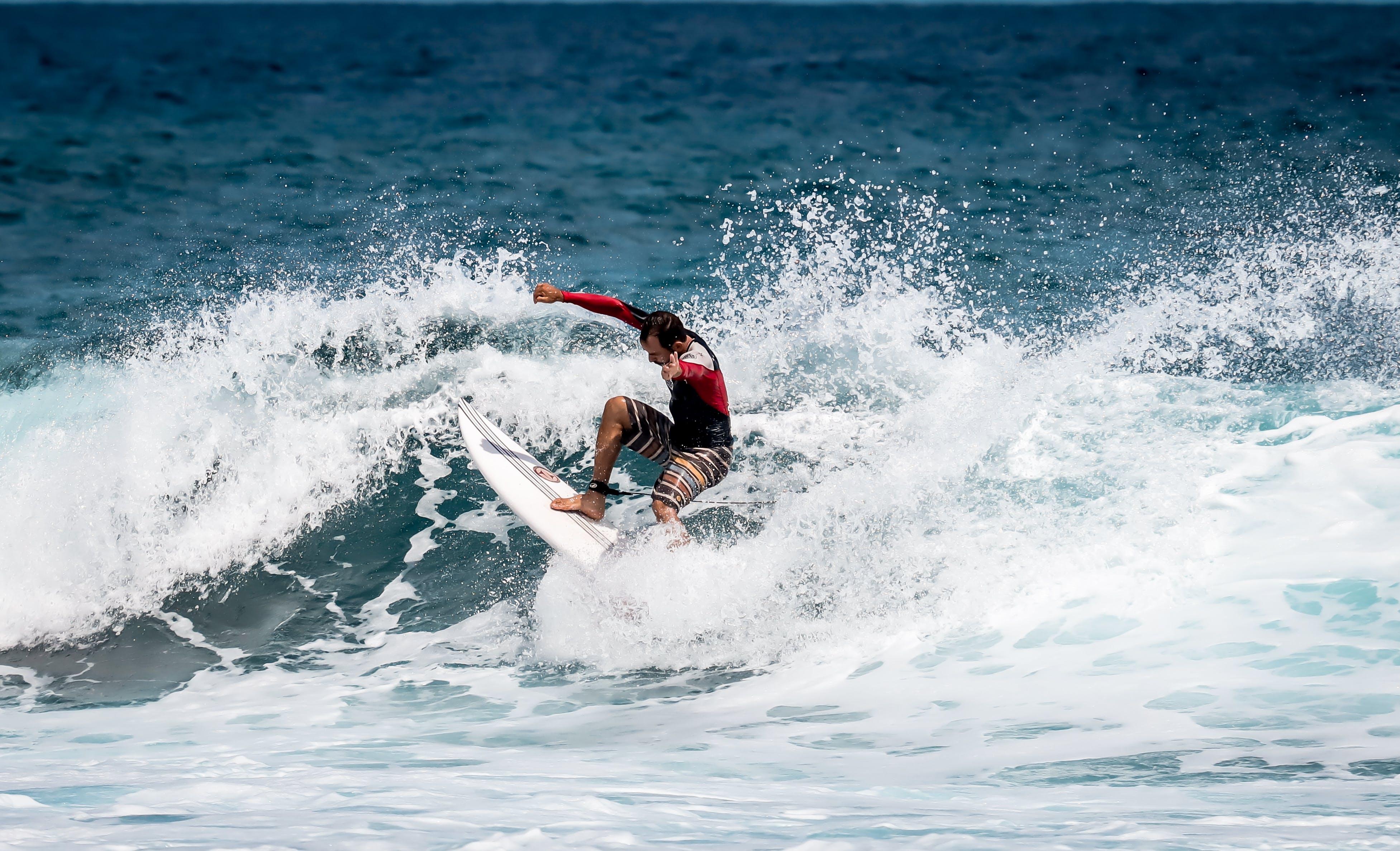 Δωρεάν στοκ φωτογραφιών με Surf, άθλημα, αθλητής, αναψυχή