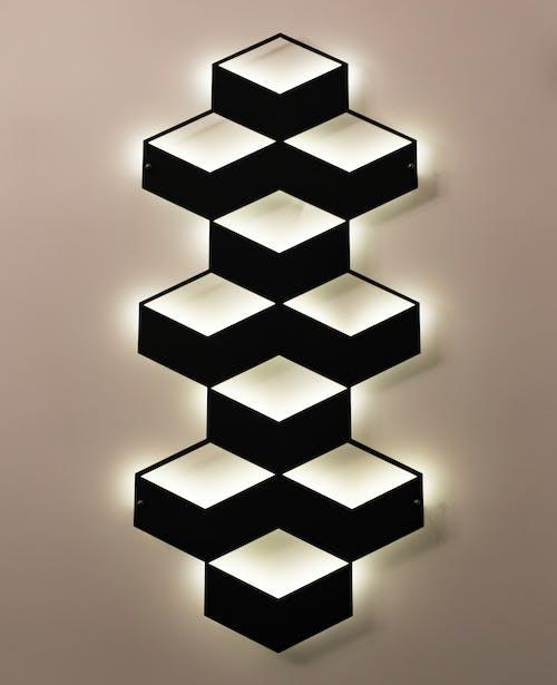 Gratis lagerfoto af former, lampe