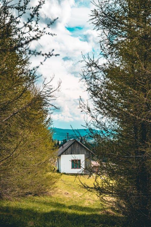 Darmowe zdjęcie z galerii z architektura, budynek, chmury, dom