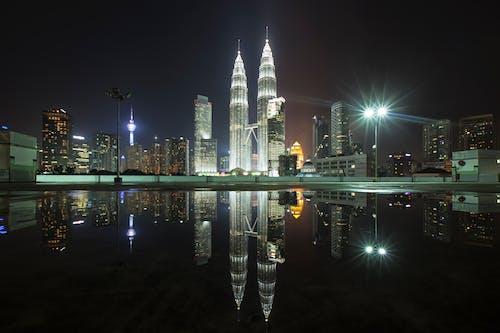 Kostnadsfri bild av arkitektur, bakgrund, byggnader, horisont