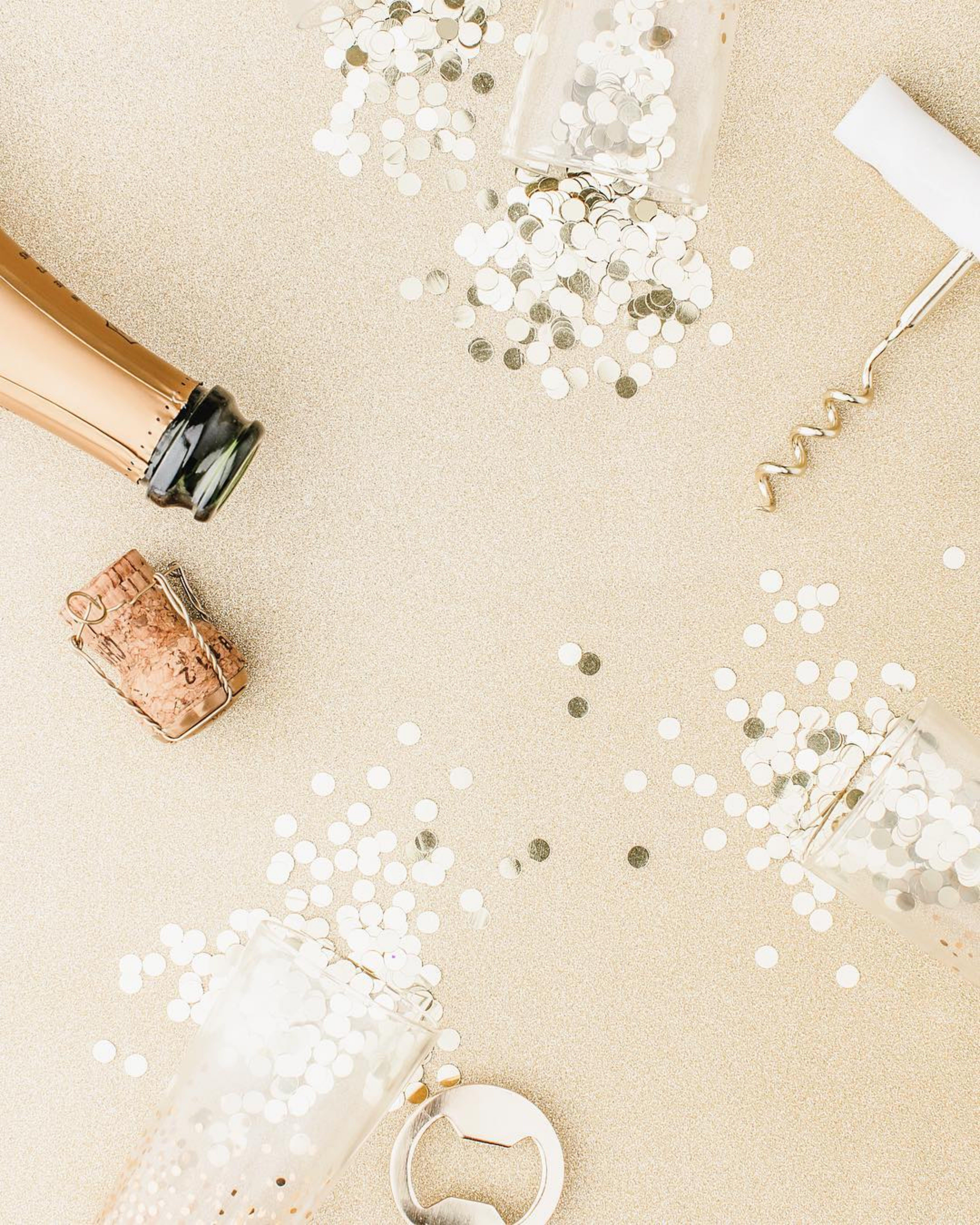 Confettis And Cork