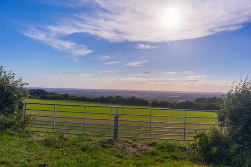 Free stock photo of blue, blue skies, fields