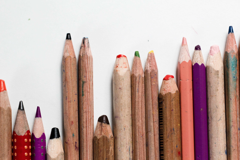 Základová fotografie zdarma na téma barevný, barva, dětství, kancelářské potřeby