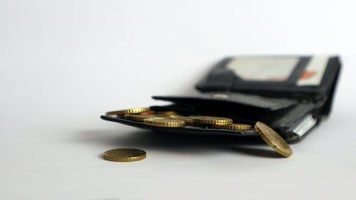 Ảnh lưu trữ miễn phí về cái ví, màu đen, tiền bạc, tượng trưng