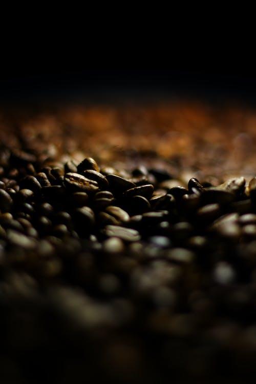Бесплатное стоковое фото с кофейное зерно, черный кофе