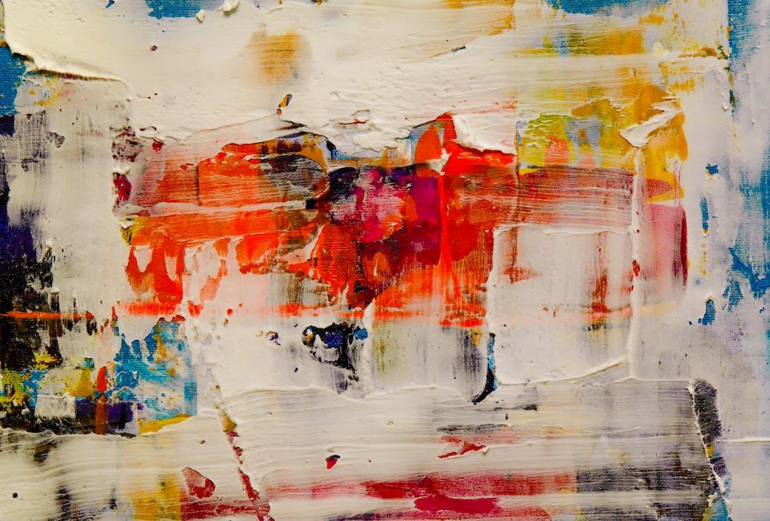 absztrakt, absztrakt festmény, akrilfesték