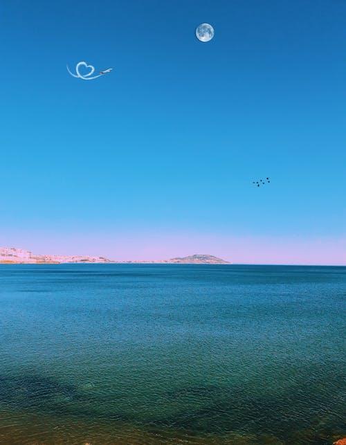 Δωρεάν στοκ φωτογραφιών με γαλάζιος ουρανός, διάθεση, ελευθερία, ελεύθερος
