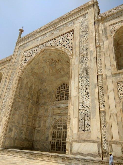 Darmowe zdjęcie z galerii z agra, architektura islamska, biały