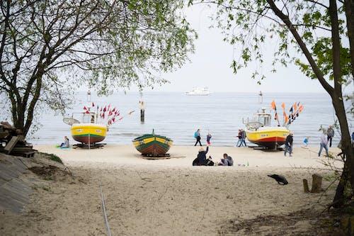 Free stock photo of activity, Baltic, beach, blue