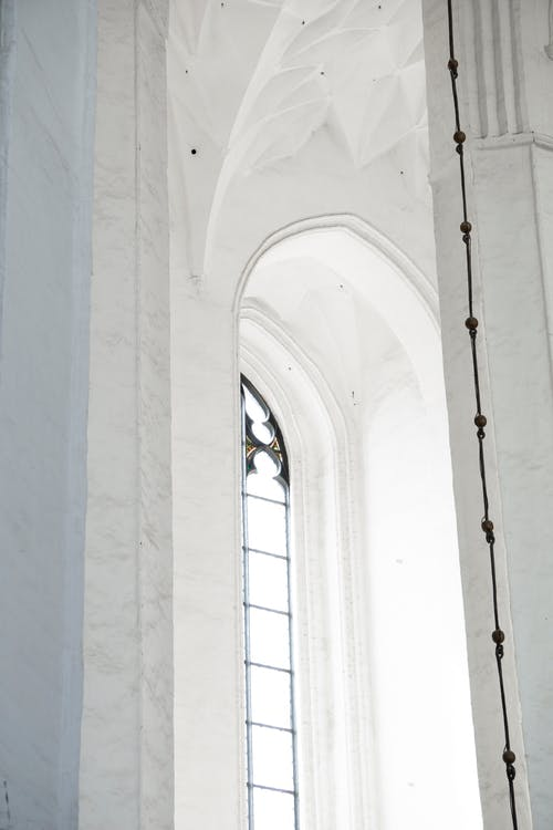 Free stock photo of ceiling, church window, gothic, marble