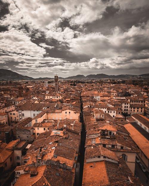 Δωρεάν στοκ φωτογραφιών με αρχιτεκτονική, αστικός, γραμμή ορίζοντα, δύση του ηλίου