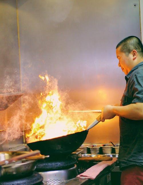 Free stock photo of chef
