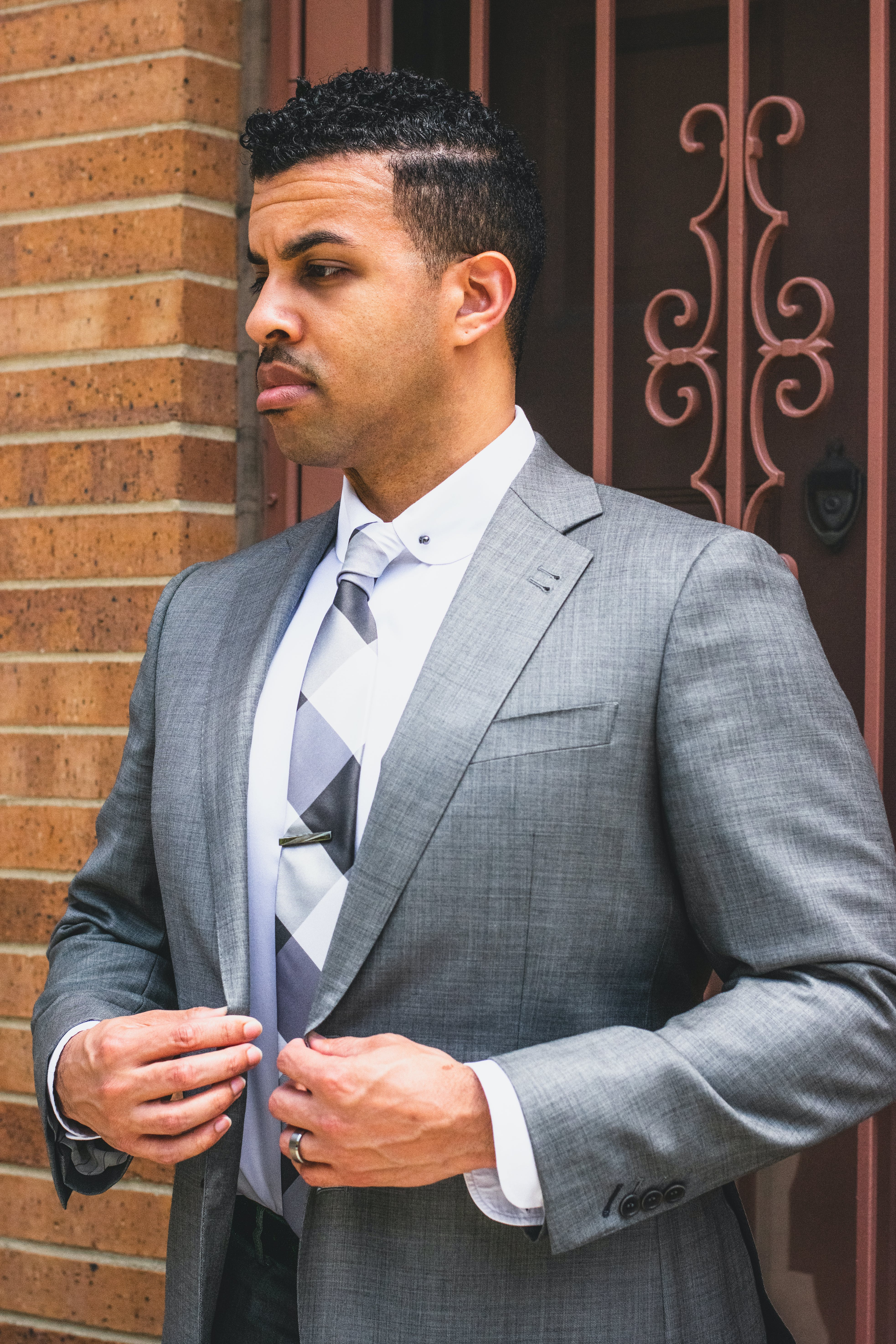 Photo of Man in Gray Suit