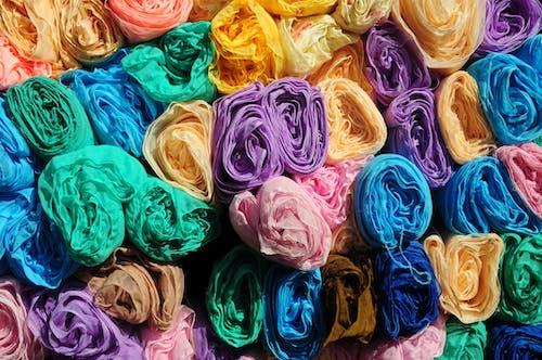 Gratis arkivbilde med farge, fargerik, stilleben, tekstil