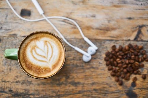 Foto profissional grátis de atraente, café, café com leite, café espresso