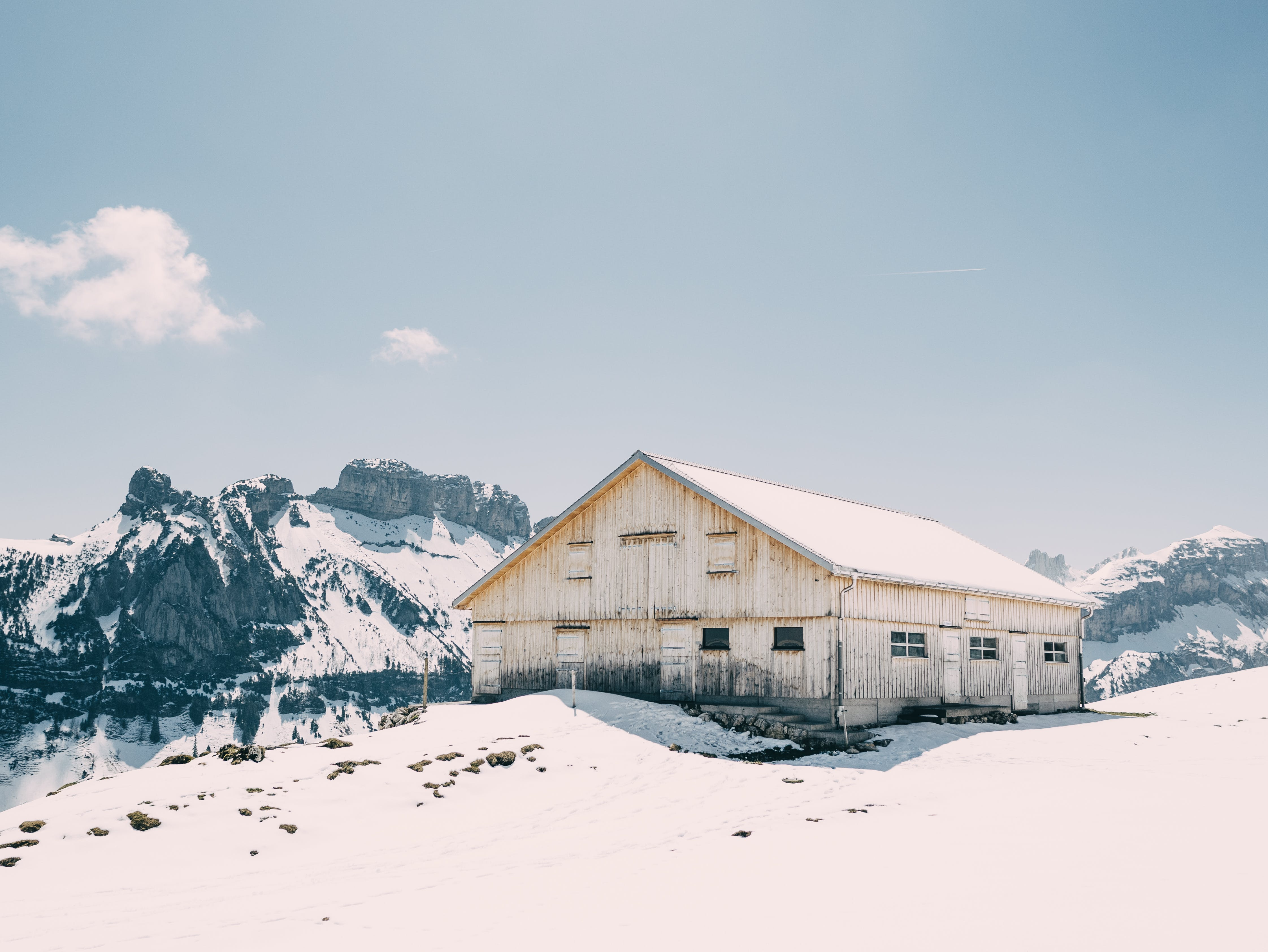 下雪的, 下雪的天氣, 冬季, 冬季景觀 的 免費圖庫相片
