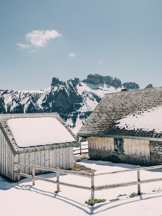 altitude, architectuur, bergen
