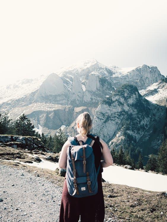 adulte, alpes, alpiniste