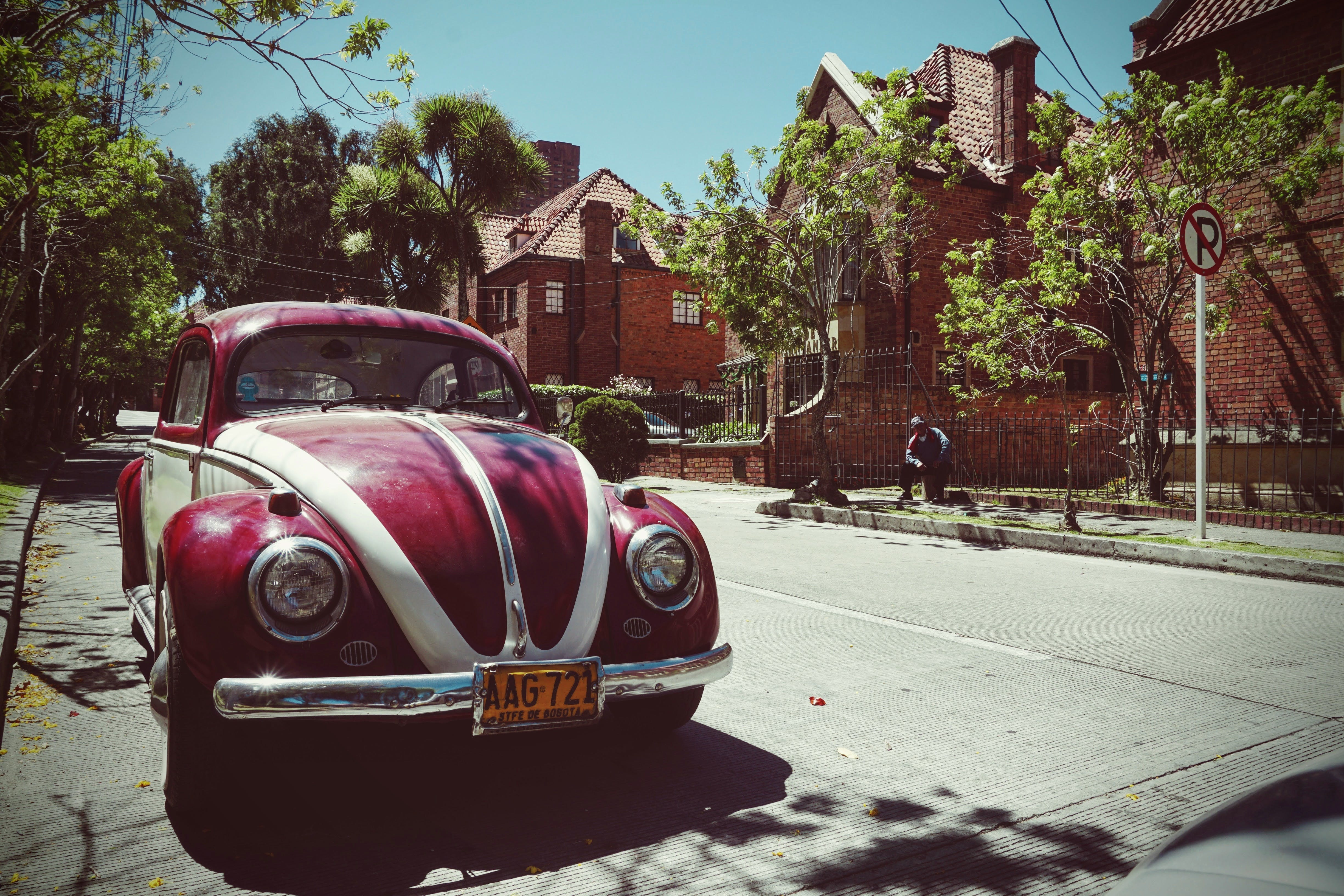 Free stock photo of antique, beetle, car, classic